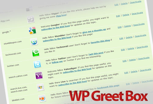 WP Greet Box | Wordpress Plugin