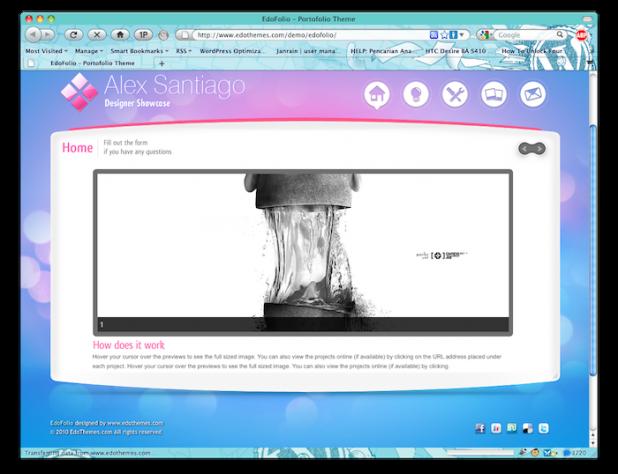 EdoFolio Screenshoot